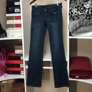 Guess Rhinestone embellished jeans SZ 27
